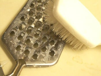 How To Clean a Cheese Grater